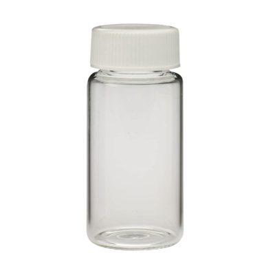 Szklane fiolki scyntylacyjne Wheaton z zakrętką, polipropylen, 22 mm