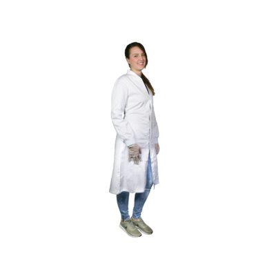 Fartuchy laboratoryjne damskie z mankietami