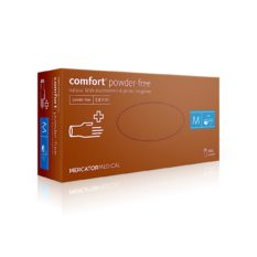 Rękawice lateksowe comfort powder-free - bezpudrowe - 1