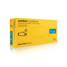 Rękawice lateksowe comfort powdered - pudrowane - 1