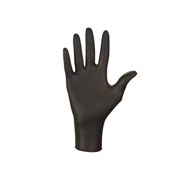 Rękawice nitrylowe nitrylex black - bezpudrowe - 2