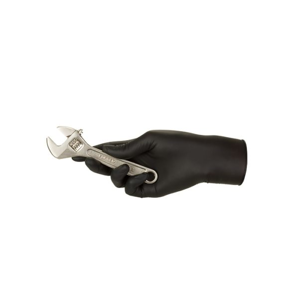 Rękawice nitrylowe nitrylex black - bezpudrowe - 3
