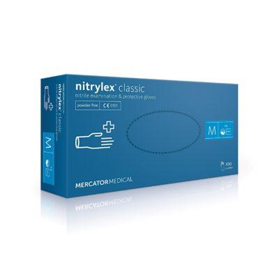 Rękawice nitrylowe nitrylex classic - bezpudrowe - 1