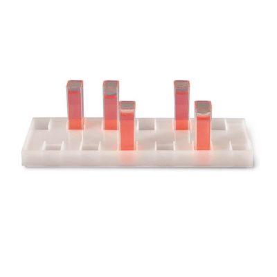 Statywy i pudełka na kuwety spektrofotometryczne