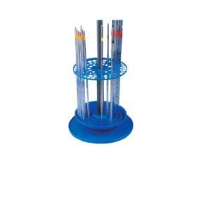 Statywy na termometry, areometry, pipety, płytki, lejki