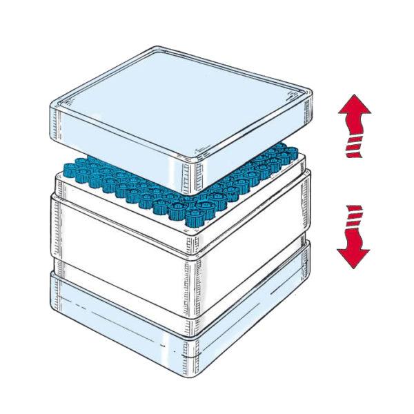 Końcówki do pipet, uniwersalne, w dwustronnym pudełku2