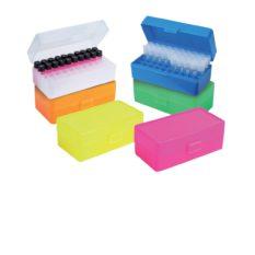 Pudełka plastikowe na probówki o poj. 1,2-2,0 ml