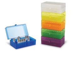 Pudełka plastikowe na probówki o poj. 3,0-50 ml