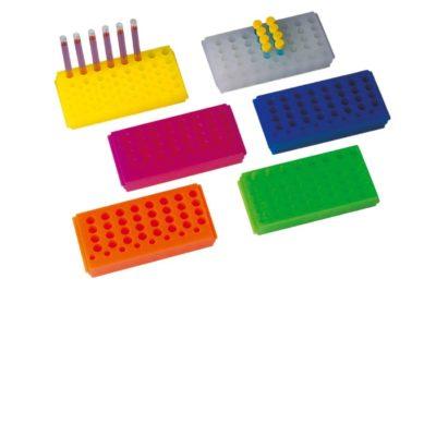 Statywy plastikowe na probówki PCR o poj. 0,2-0,6 ml