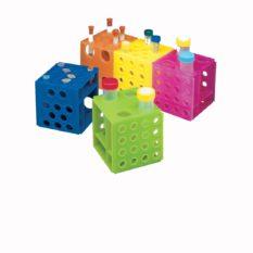Statywy plastikowe na probówki o poj. 1,2-2,0 ml