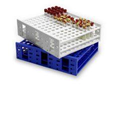 Statywy plastikowe na probówki o poj. 3,0-50 ml