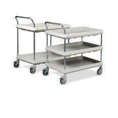 Wózki z półkami