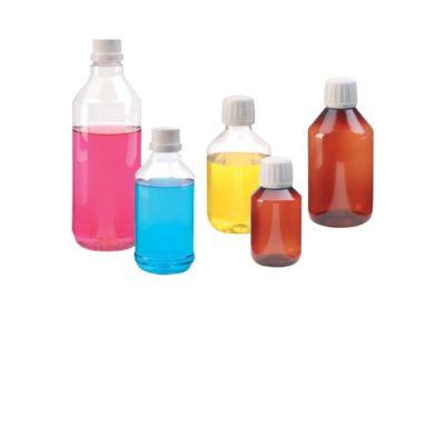 Butelki plastikowe z gwintem