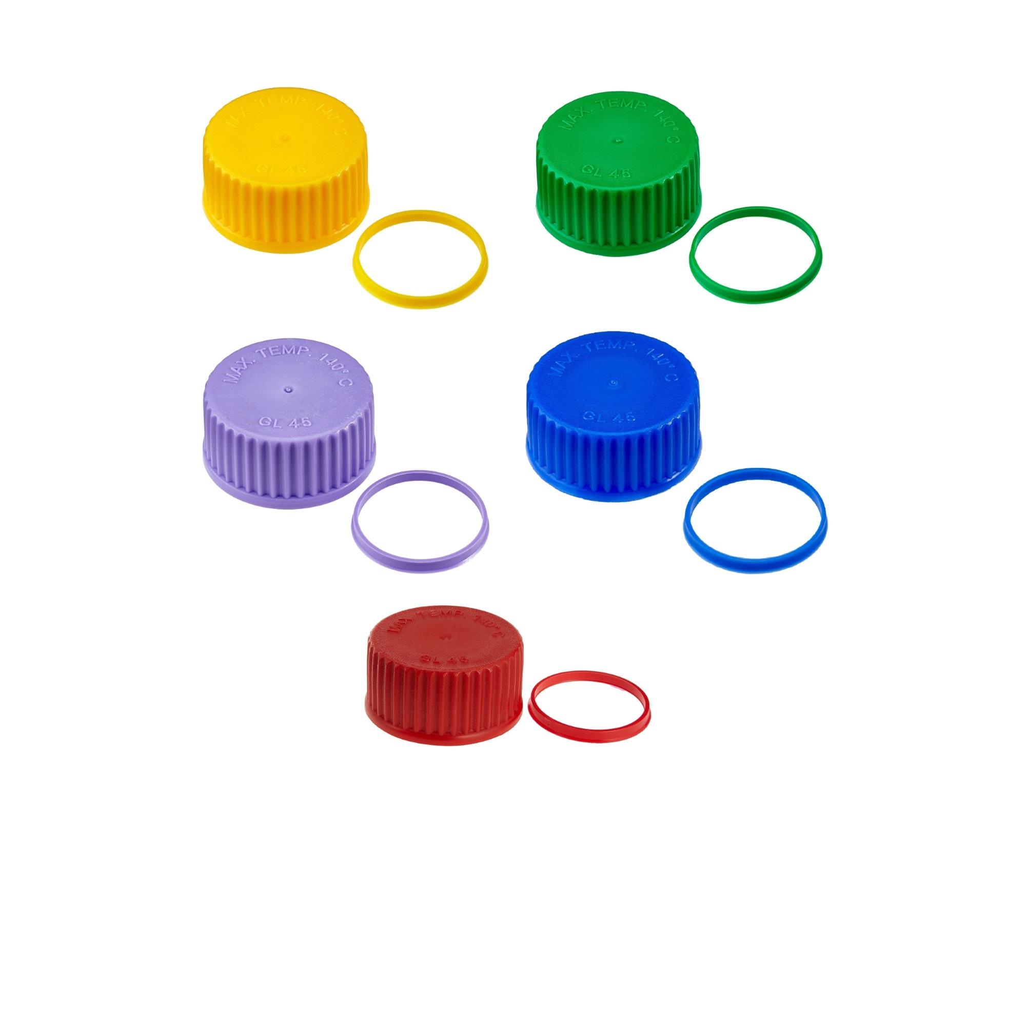 Zakrętki, pierścienie, uszczelki do butelek