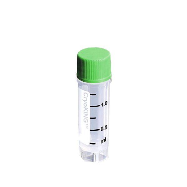 Krioprobówki z PP z zakrętką z gwintem zewnętrznym - sterylne - poj. 0,5-1,5 ml - B-0872