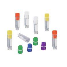 Krioprobówki z zakrętką z gwintem wewnętrznym i uszczelką - sterylne - 1