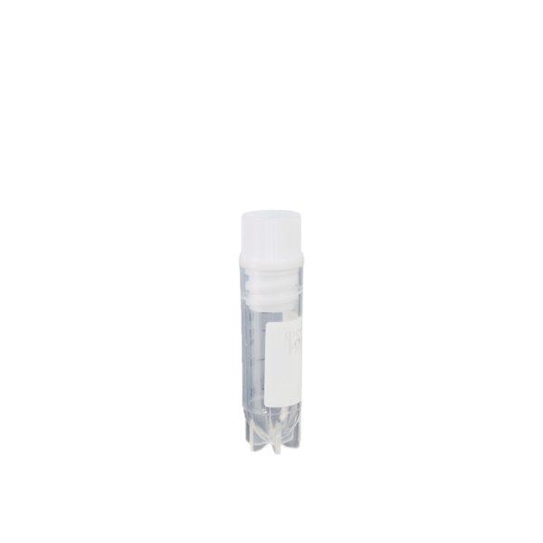 Krioprobówki z zakrętką z gwintem wewnętrznym i uszczelką - sterylne - B-0822