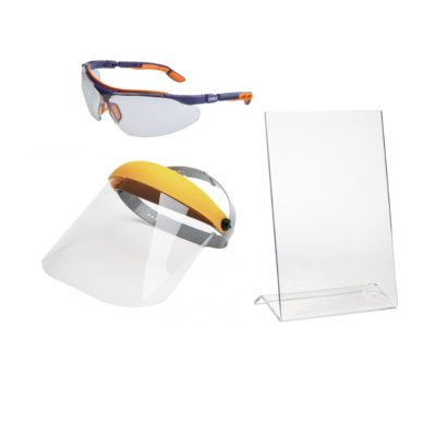 Okulary, wizjery, ekrany ochronne