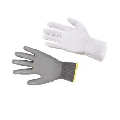 Rękawice tekstylne, skórzane