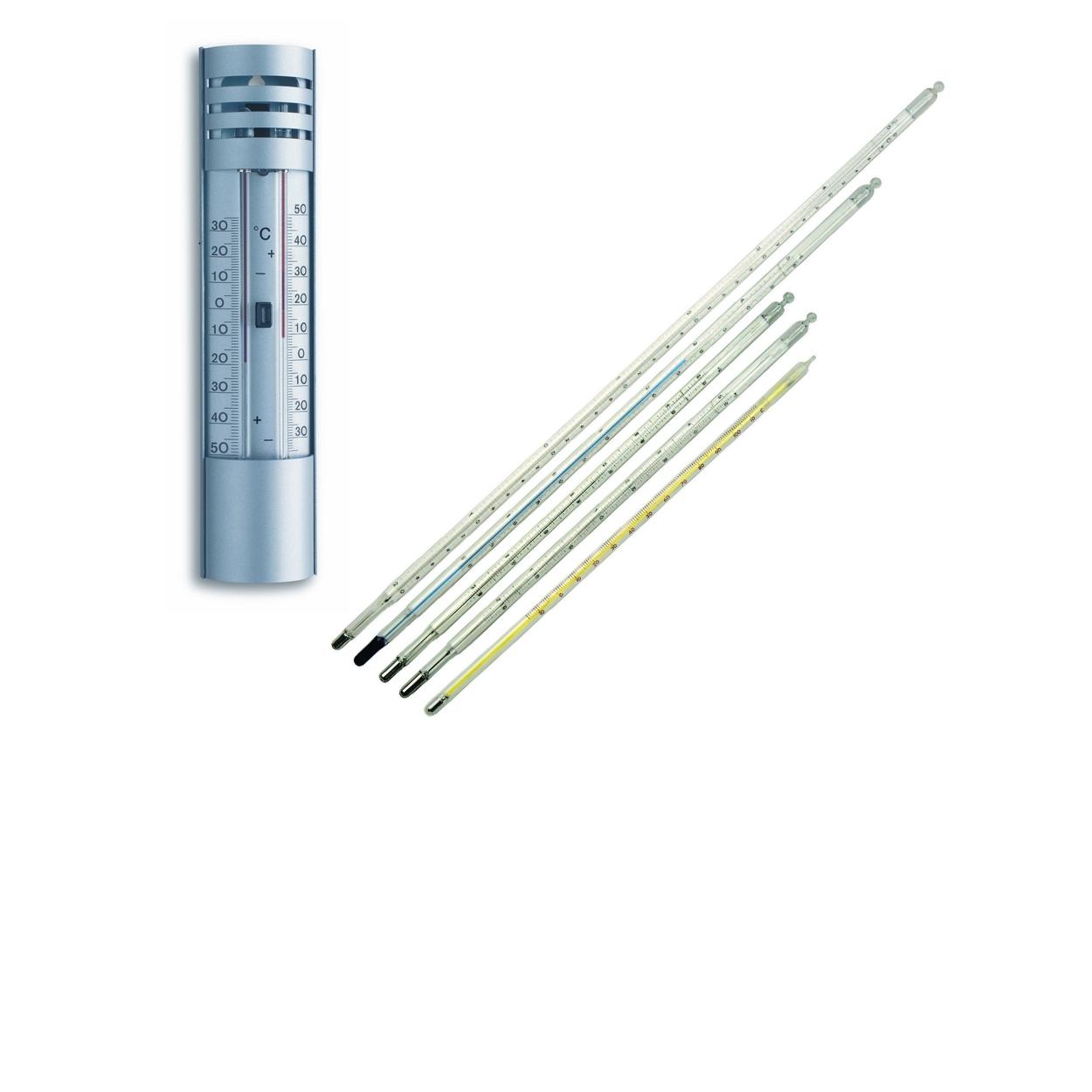 Termometry cieczowe, tarczowe