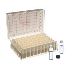 Fiolki Wheaton - przeźroczyste - 8 ml - w pudełku - 1