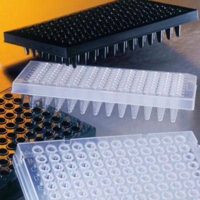 Płytki 96-dołkowe Thermowell® do PCR - czarne