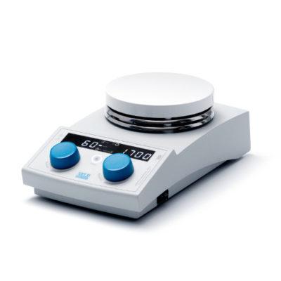 Cyfrowe mieszadło magnetyczne z grzaniem AREX-6 Digital-0