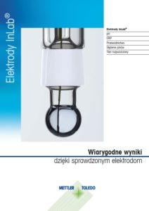 Elektrody i czujniki do mierników Mettler-Toledo - broszura - 30315959B - PL