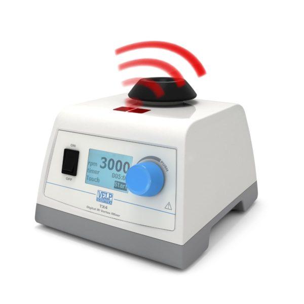 Wytrząsarka Vortex TX4 - z czujnikiem podczerwieni i cyfrowym wyświetlaczem - 1