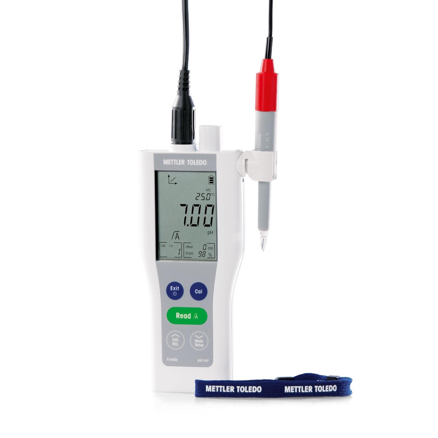 pH-metr przenośny FiveGo™ F2 - 3