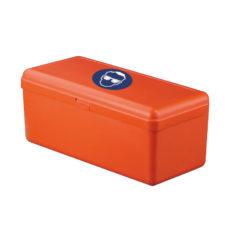 Pojemnik na okulary ochronne - pomarańczowy - 1