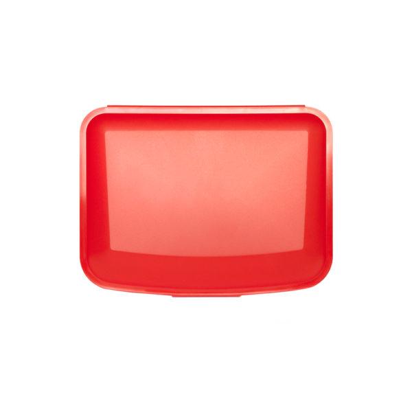 Pojemniki wielofunkcyjne z PP duże czerwony