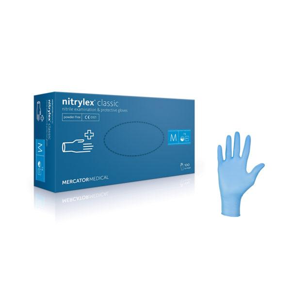 Rękawice nitrylowe nitrylex® classic - bezpudrowe
