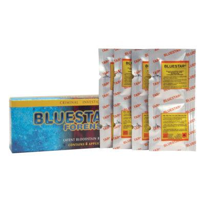 Tabletki Bluestar Forensic na 4 aplikacje po 125 ml roztworu