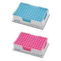 Statywy chłodzące Eppendorf PCR-Cooler - k-0793 - statywy-chlodzace-eppendorf-pcr-cooler - niebieski-i-rozowy - 2-szt - 3881-000-015
