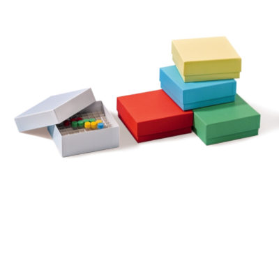 Pudełka kartonowe na probówki