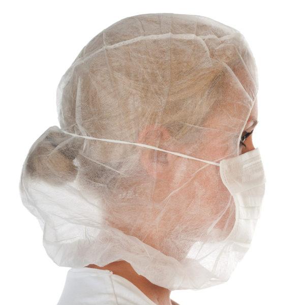 Kaptury Astro z 2-warstwowymi maskami na twarz