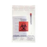 Worki na próbki z logo Biohazard – z kieszenią na dokumenty - p-1590 - worki-z-oznaczeniem-biohazard-z-kieszenia-na-dokumenty-2 - 170-x-180-mm - 100-szt