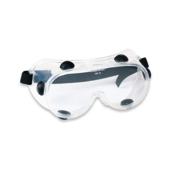 Panoramiczne okulary ochronne z wentylacją