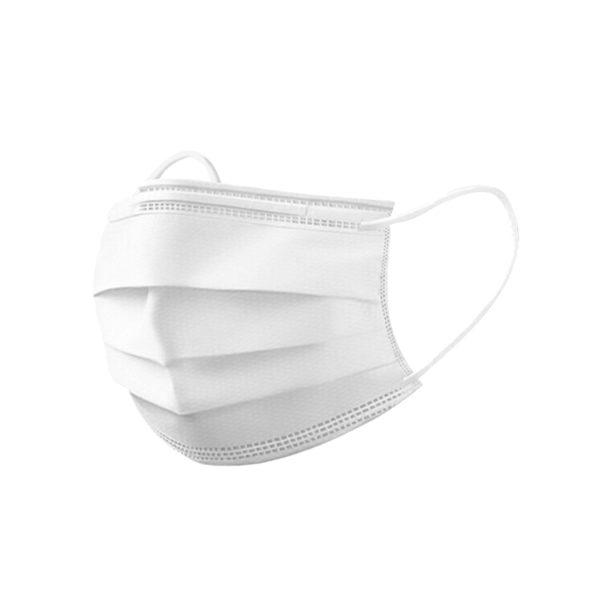 Jednorazowe maski ochronne - 3-warstwowe - z gumkami