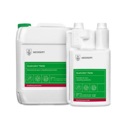 Koncentrat do mycia i dezynfekcji powierzchni Quatrodes® Forte