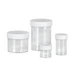 Pojemniki do przechowywania próbek - b-2461 - pojemniki-z-biala-zakretka - ps - 15-ml - 35-x-33-mm - 500-szt