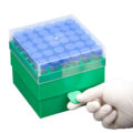 Pudełka z PP do zamrażania - a-730140 - pudelka-z-pp-do-zamrazania - 6-x-6 - 15-ml - zielony - 2-szt