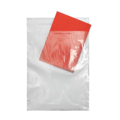 Worki z LDPE z kieszenią na dokumenty