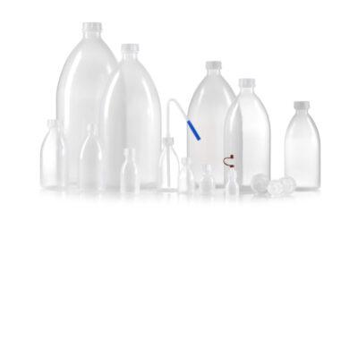 Butelki plastikowe z wąską szyją