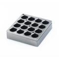 Kwadratowe wkłady grzewcze na probówki - IKA - k-4613 - kwadratowy-wklad-grzewczy-h-135-101 - 4-ml - 16-miejsc