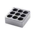Kwadratowe wkłady grzewcze na probówki - IKA - k-4615 - kwadratowy-wklad-grzewczy-h-135-103 - 16-ml - 9-miejsc