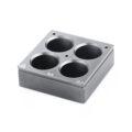 Kwadratowe wkłady grzewcze na probówki - IKA - k-4616 - kwadratowy-wklad-grzewczy-h-135-104 - 20-ml-4 - 4-miejsca