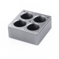 Kwadratowe wkłady grzewcze na probówki - IKA - k-4617 - kwadratowy-wklad-grzewczy-h-135-105 - 30-ml - 4-miejsca