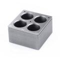 Kwadratowe wkłady grzewcze na probówki - IKA - k-4618 - kwadratowy-wklad-grzewczy-h-135-106 - 40-ml - 4-miejsca
